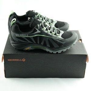 Merrell Siren Edge Sneakers Sz 5 Black Green